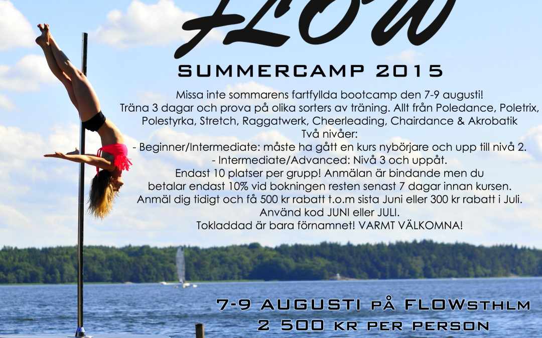FLOW Summercamp 2015!